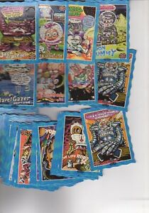 Part Set of Glo SPACE HOT Oddbodz cards 37 cards