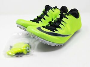 Nike Zoom Superfly Elite Track Spikes Green 835996-300 Men's Sz 6.5 [Women's 8]