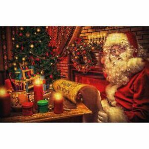 Santa's List 500 Piece Jigsaw Puzzle  f3