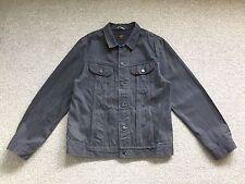 Lee 101 Blue Grey Denim Rider Jacket - Size XL
