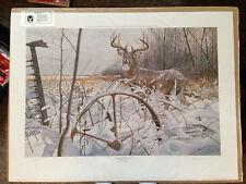 """Country Classics"" Deer Print by Chris Kuehn"
