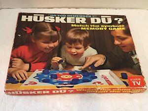 Vintage*Husker Du? Match/Memory Game*Complete w/Box*1970*Lot 1