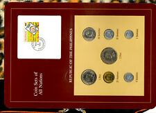 Coin Sets of All Nations Philippines 1983-1984 UNC 50 Sentimo 2 Piso 1983