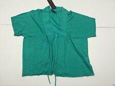 TU Hip Length Linen Tops & Shirts for Women
