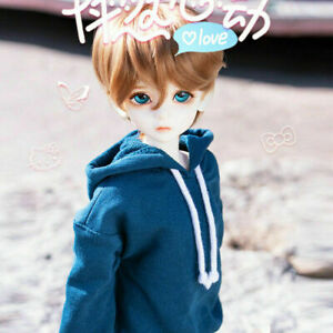 1/4 BJD SD Male Boy Doll 40cm Resin Ball Jointed Doll + Free Eyes + Face Makeup