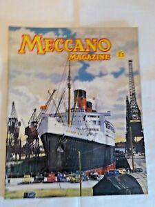 Vintage Meccano Magazine October 1961