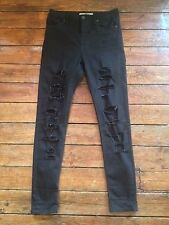Topshop Ripped, Frayed Slim, Skinny L32 Jeans for Women