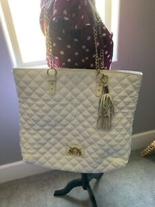 Brand New Juicy Couture White Anja Tote