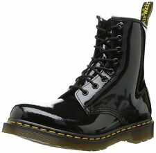 Dr. Marten's Women's 1460 8-Eye Patent Lamper Boots Doc Black US 10