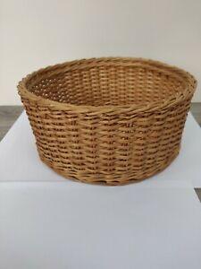 Vintage Large Wicker Fruit Basket