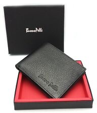BUONO RFID Blocking Men's Designer Pelle Real Soft Leather Wallet
