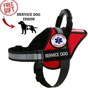 Service Dog - Therapy Dog - Support Dog - Harness Vest Patches ALL ACCESS CANINE