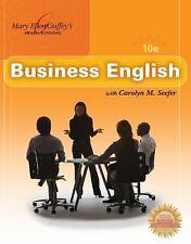 Business English by Mary Ellen Guffey and Carolyn M. Seefer (2010, Paperback)