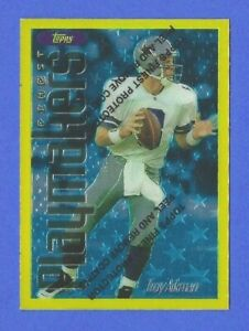 TROY AIKMAN, DALLAS COWBOYS 1996 FINEST RARE GOLD CARD #178