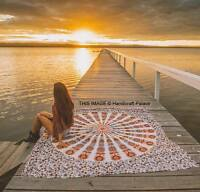 Indian Mandala Bedspread Tapestries Home Decor Wall Hanging Hippy Twin Coverlet