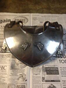 Game Of Thrones Jon Snow Season 7 Costume Real Metal Gorget Neck Piece Armor