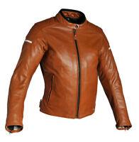 RICHA DAYTONA donna classica pelle giacca da moto Cognac