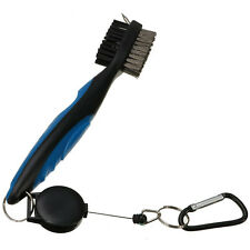 Golf Club Cleaning Brush & Groove Cleaner With Retractable Reel C4G5