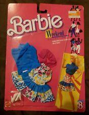 Vintage 1987 Barbie Weekend Collection #1528 Still New Unopen