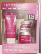 Strivectin Power Starters Multi-Action Trio~Cleanser, Eye Cream, Moisturizer~NIB