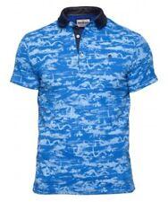 Mish Mash Tornado Blue 'BIG FIT' Polo £22.99 rrp £45 **Free Postage**