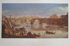 Gaspare van Wittel: Ponte Rotto, Rom - Vedute Kunstdruck art print