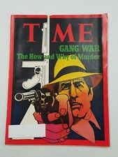 Time Magazine April 24 1972 Gang War The How And Why Of Murder - English Weekly