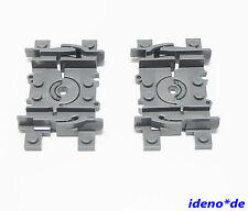 LEGO FERROCARRIL TREN Flex Vías 2 unidades NUEVO GRIS OSCURO 88492 4535745 64022