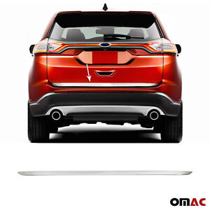 Fits Ford Edge 2015-2018 Chrome Lower Trunk Lid Trim Tailgate Streamer Stainless