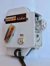 Caméra 9,5 mm PATHE LIDO Classic IV - France 1958 & objectif Berthiot de 20mm