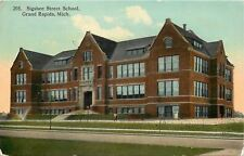 Grand Rapids Michigan~Sigsbee Street School~Federal Style~Dormer Windows~1908