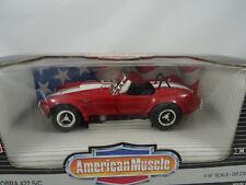 1:18 Ertl #7369 Shelby Cobra 427 S/C Red/Blancheur - Rare §
