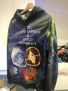 Supreme Undercover Public Enemy Hoodie Size Large 100% Authentic