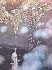 """Edmund DULAC vintage stampa montata, 14 x 11"""", Rubaiyat di Omar Khayyam ED10"""
