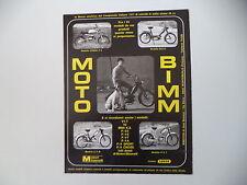 advertising Pubblicità 1972 MOTO BIMM CROSS P4/BILLO/ E/Z M - P/3 T