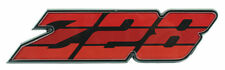 1980 1981 Camaro Z-28 Grille Emblem Z28 Red Tri Color