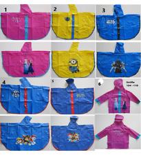 Disney Kinder Regenponcho - NEU - Größe 104 - 110 oder Größe 116 - 122
