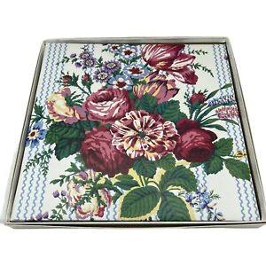 CR GIBSON Unimount Waverly Floral Photo Album, Magnetic Pages Post Bound Picture