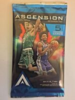 2017-18 Panini Ascension NBA Basketball Factory Sealed Hobby Pack - 5 Cards