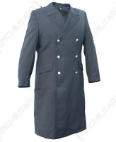Original German Army Grey Coat - Winter Lined Removable Surplus Long Trench