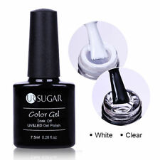 7.5/10ml White Clear Nail Blooming Gel Soak Off Manicure Nail Art UV Blossom Gel