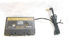 Oem Lenoxx Sound Car Cassette Tape Adapter Converter 3.5mm Plug Mp3 Radio iPod