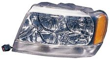 Headlight Assembly Left/Driver Side Fits 1999-2001 Jeep Grand Cherokee Limited
