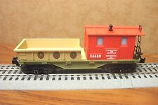 LIONEL TRAINS BOY SCOUTS OF AMERICA WORK CABOOSE LIGHTED INTERIOR #36650 O GAUGE