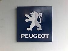 Peugeot 3D Showroom Wall Plaque/logo/sign
