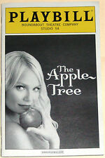 The Apple Tree Broadway Playbill, Opening Night Date, Kristin Chenoweth