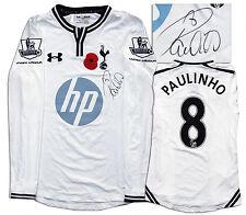 Paulinho Tottenham Hotspur Shirt Signed Club COA