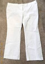 2fb6c221648 New ListingDAISY FUENTES WOMAN SIZE 24W STRETCH WHITE CITY PANTS NEW w   TAGS  48.00 RETAIL