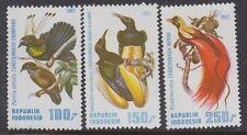 BIRDS: 1982 INDONESIA Birds of Paradise  set  SG1686-8 MNH