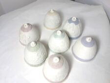 Lot Of 7 Lladro Christmas Bells - 1987 - 1993